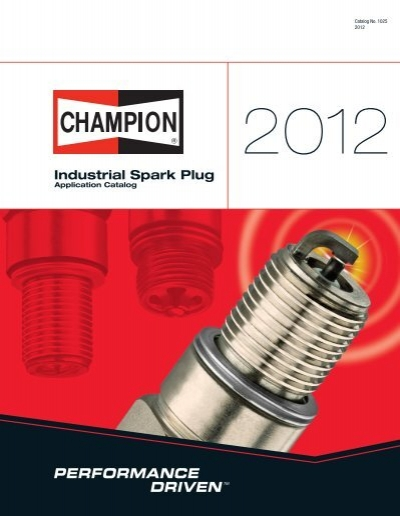 Champion 520 W20 Large Industrial Spark Plug Pack of 1