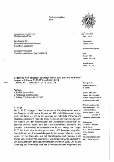 Polizeibericht Koeln