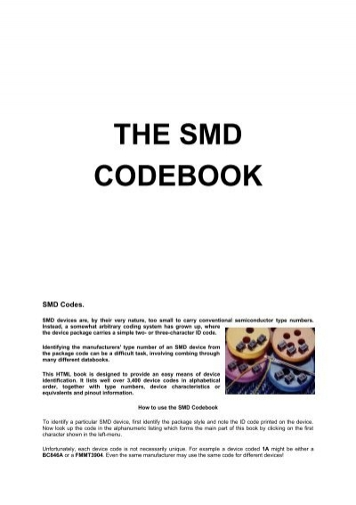 how to create a codebook