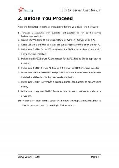 bizpbx server user manual rh yumpu com