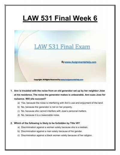 week 6 irac final Find law 531 week 2 irac brief uop course tutorials homework help which contains entire course question and answers, etc and remove every confusion about the subject.