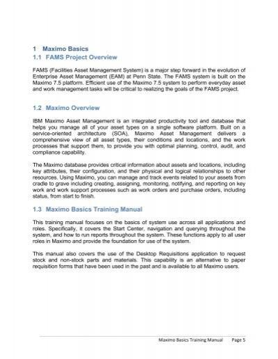 7 1 creating a qbr quer rh yumpu com Maximo Training.pdf maximo 7.6 training manual