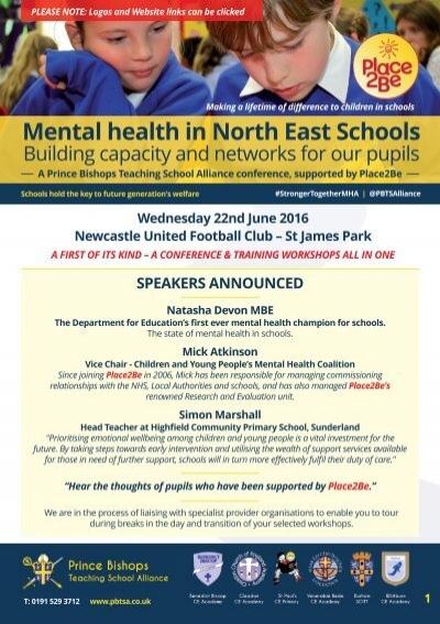 Mental Health In North East Schools