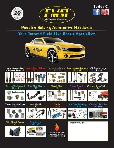 5000 PSI FMSI Automotive Hardware F3451 3//16 High Pressure Steel Compression Union