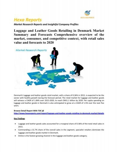 Luggage and Leather Goods Retailing in Denmark Market