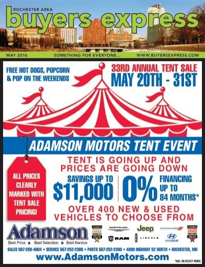 Buyers Express Rochester Edition May 2016