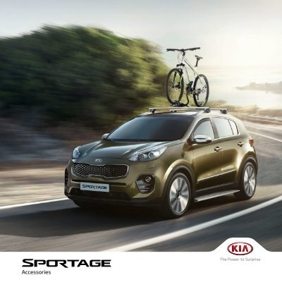 F1211ADE00AL Genuine Kia Sportage 2016-on Aluminium Roof Rail Cross Bars