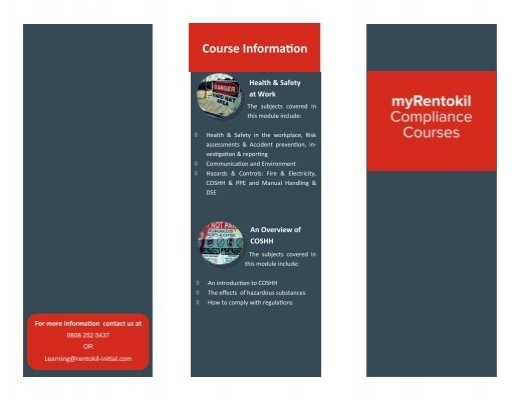 Rentokil PC Virtual College Brochure TEST – College Brochure