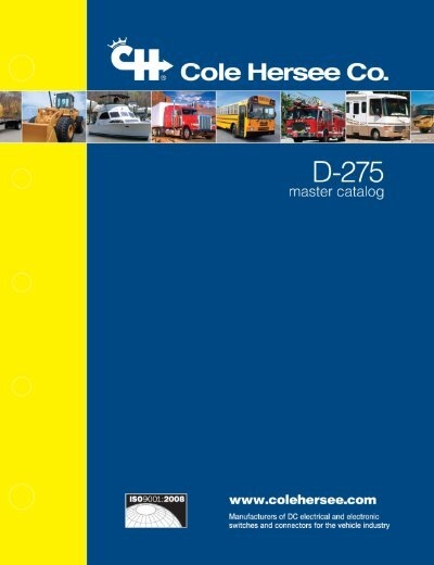 cole hersee trailer wiring diagram cole hersee d 275 mastercatalog  cole hersee d 275 mastercatalog