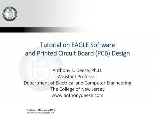 and Printed Circuit Board (PCB) Design