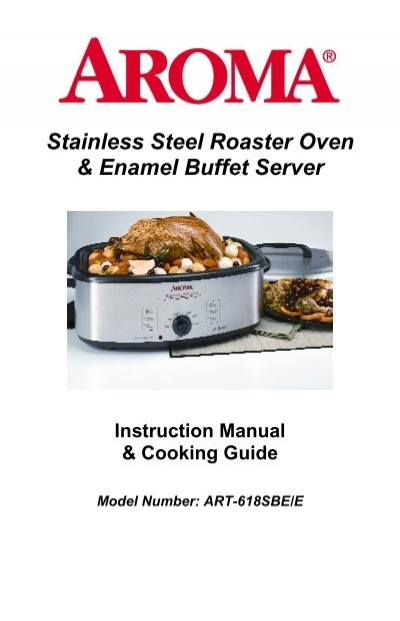 aroma roaster oven art 618 art 618 art 618 instruction manual rh yumpu com Coffee Aroma Texture Art