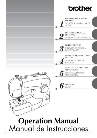 Brother BM40 User's Guide Impressive Brother Sewing Machine Bm 3600