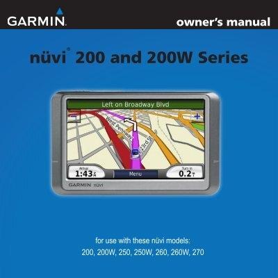 Garmin 260w manual garmin