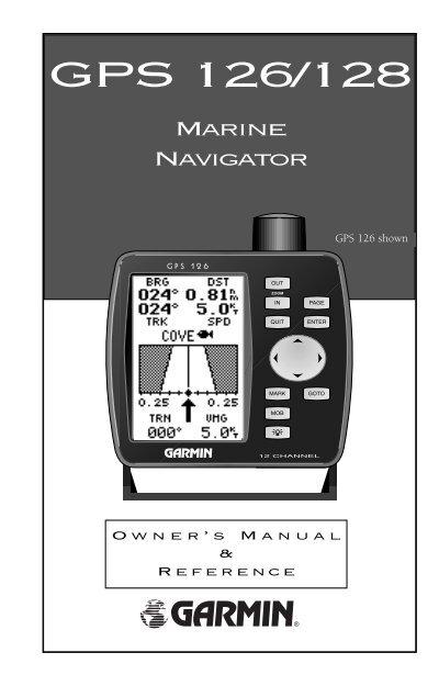 garmin gps 126 owner s manual rh yumpu com Garmin 126 128 Marine GPS Garmin 128 GPS Manual