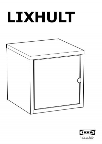 Ikea lixhult s39161619 assembly instructions for Ikea assembly instructions help