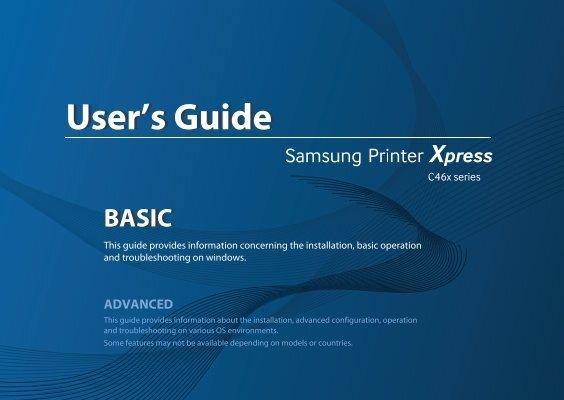 Samsung Multifunction Xpress C460FW SL-C460FW//XAA Printer AC power cord cable