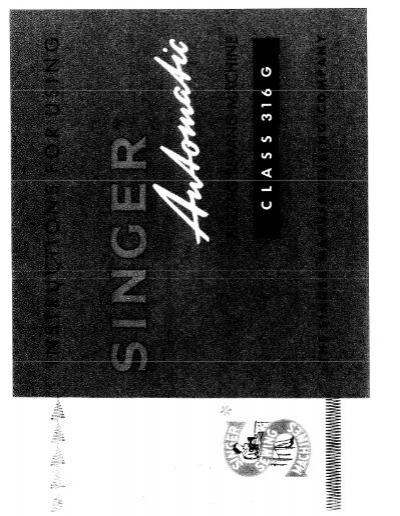 singer 316g english user manual rh yumpu com  maquina de coser singer 316g manual