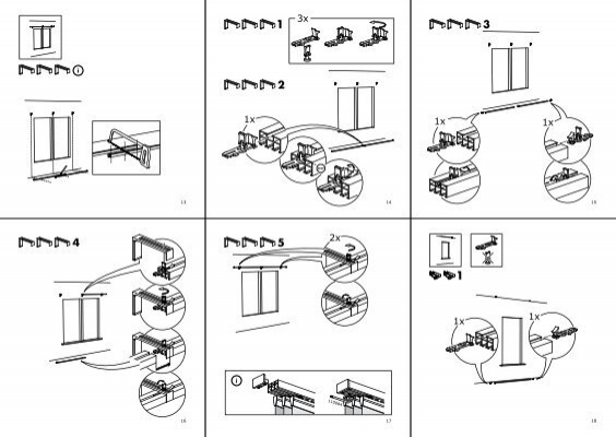 2x 1x 19 20 21 2x 1x 1x 1 for Ikea assembly instructions help