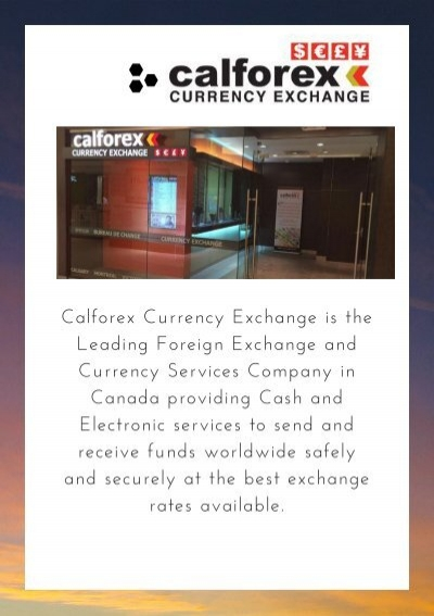 Calforex ottawa email как хеджирование на форексе