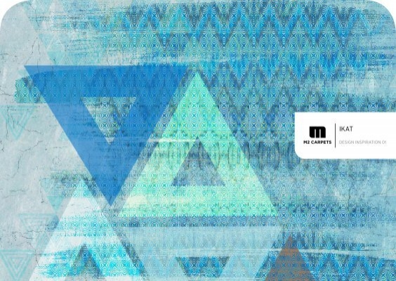 M2Carpets IKAT Design Inspiration