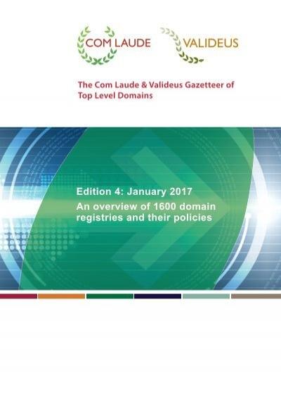 Cl Valideus Gtld Gazetteer Test