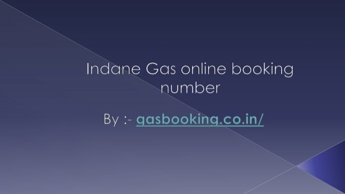 gas booking number