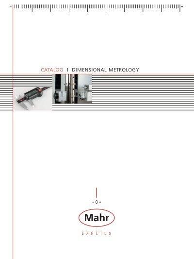 Mahr Federal 4487614 844 A Self-Centering Measuring Pistol