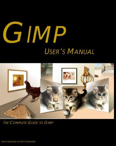 gimp user s manual discrete imaging and graphics group rh yumpu com gimp user manual is not installed on your computer gimp user manual download