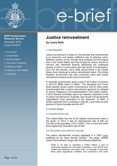 Australian justice reinvestment project forexworld box tracker software