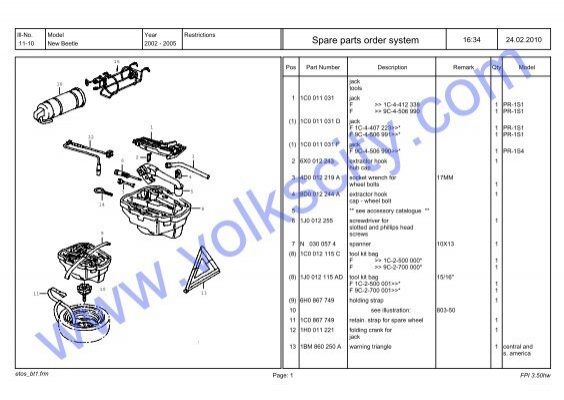 Premium Oil Filter for Volkswagen Audi Part # 06L-115-562 Case of 12