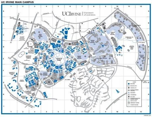 Uci campus map uc irvine today publicscrutiny Choice Image