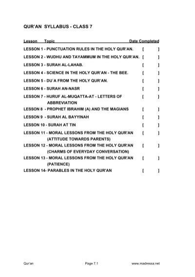 LESSON 3: SURAH AL LAHAB