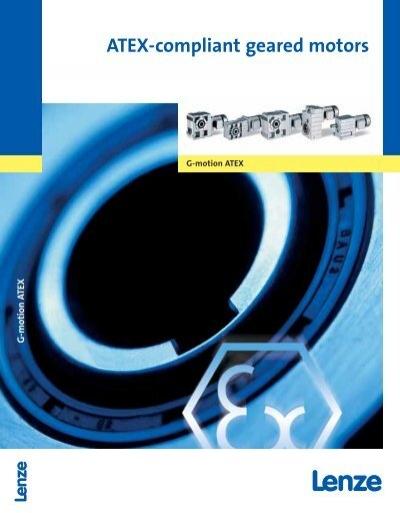 Catalogue Atex Compliant Geared Motors Lenze