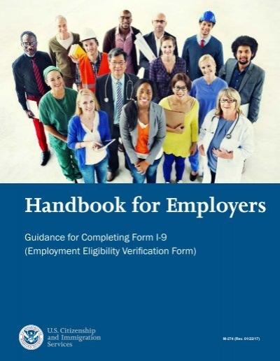 Handbook For Employers