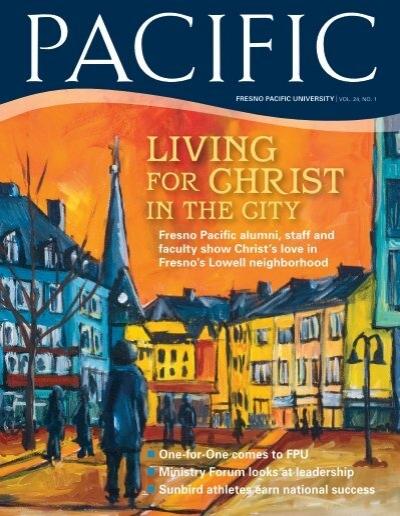 Living For Christ Fpu News Fresno Pacific University