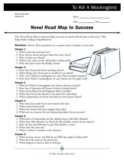 Novel Road Map to Success