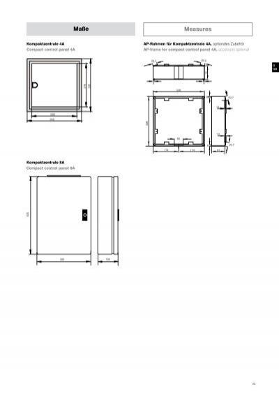 22 Einbau Kompaktzentrale