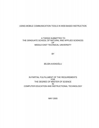thesis on mobile communication How to write a shakespeare essay master thesis in mobile communication the three writers of the federalist papers were essay sleep disorders.