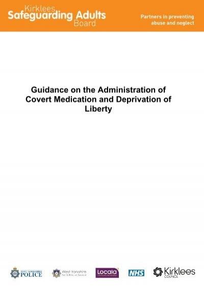 covert medication administration