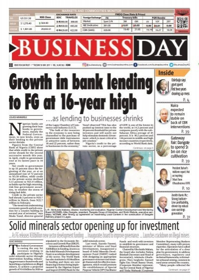 Businessday 30 May 2017