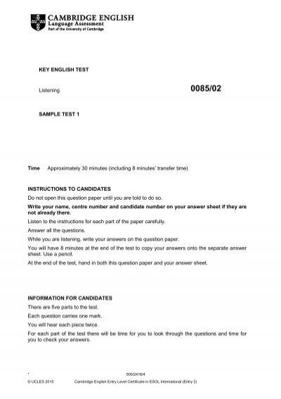 cambridge-english-key-sample-paper-1-listening v2