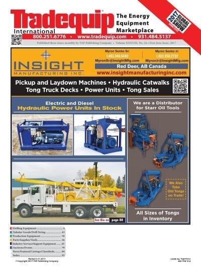 Tradequip International First June Issue