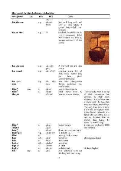 english to hausa dictionary pdf