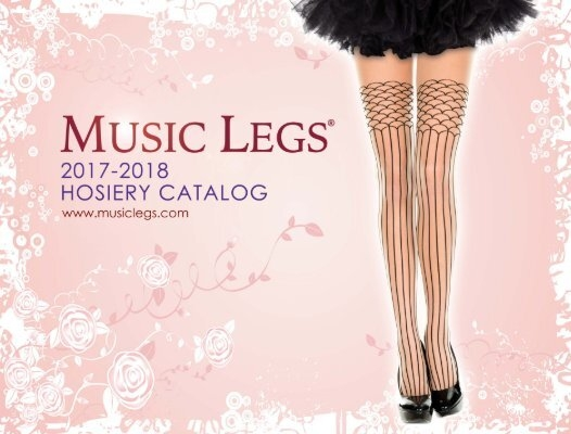 New Music Legs 5702 Knee High Socks With Bow Polka Dots And Hearts Design