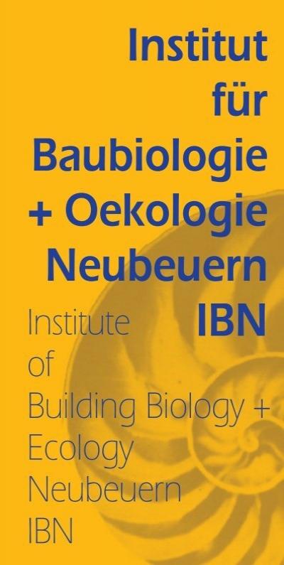 Baubiologe Berlin building biology institut für baubiologie ökologie neubeuern ibn