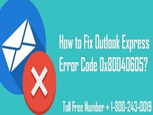 18002430019 How to Fix Outlook Express Error Code 0x80040605?