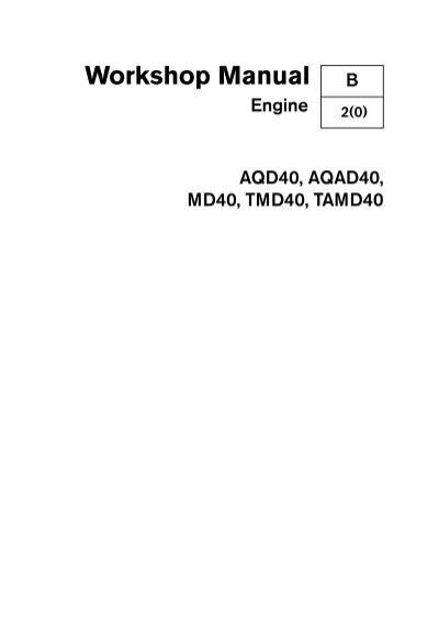 aqad40 workshop manual user guide manual that easy to read u2022 rh lenderdirectory co tamd40b workshop manual tamd40b workshop manual