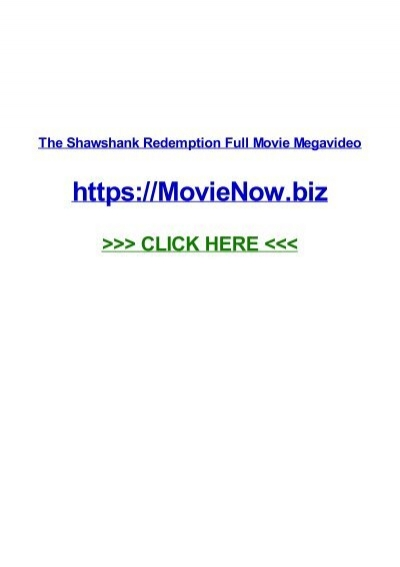 The Shawshank Redemption Full Movie Megavideo