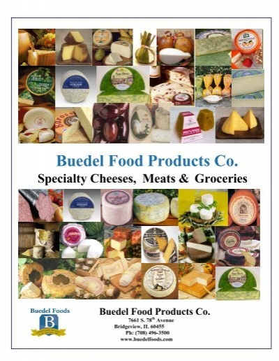 Buedel Food Products Co Specialty Cheeses Meats Groceries