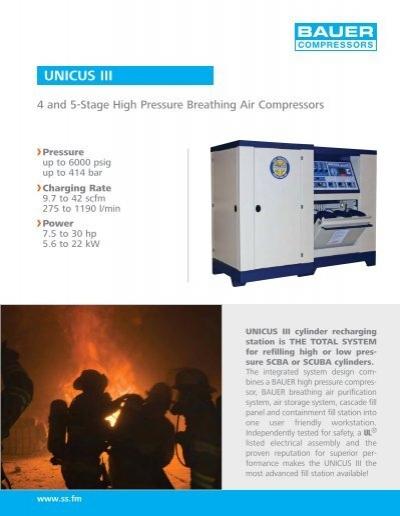 UNICUS III - Bauer Air Compressors